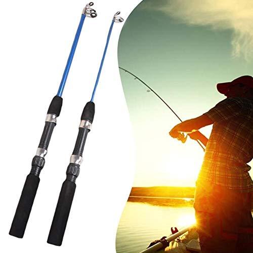 Ca/ñas de pescar s/úper duras Poste de hielo for las ca/ñas de pescar al aire libre de invierno Carretes de pesca for elegir la ca/ña Combo Pen Lole Lure Tackle Spinning Casting Hard Rod 1 unids