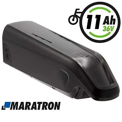 Maratron E-Bike Ersatz-Akku 36V 11Ah für E-Bikes mit AEG-Antrieb von Prophete, Zündapp, REX u.a.