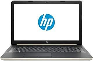 HP 15-da0037ne Laptop - Intel Core i7-8550U, 15.6-Inch FHD, 1TB, 8GB, 2GB VGA-Nvidia MX130, Eng-Arb-KB, Windows 10, Gold