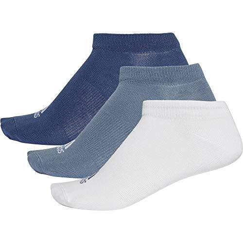 adidas Per no-sh T 3pp Socks, Noble Indigo s18/White/Raw Steel s18, 39-42