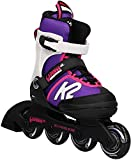 K2 Cadence 30E0876 Children's Multicoloured Adjustable Inline Skates / Roller Blades / Roller Skates for Girls