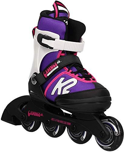 K2 Cadence 30E0876 Children\'s Multicoloured Adjustable Inline Skates / Roller Blades / Roller Skates for Girls