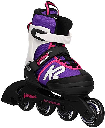 K2 Cadence 30E0876 Children\'s Multicoloured Adjustable Inline Skates / Roller Blades / Roller Skates for Girls