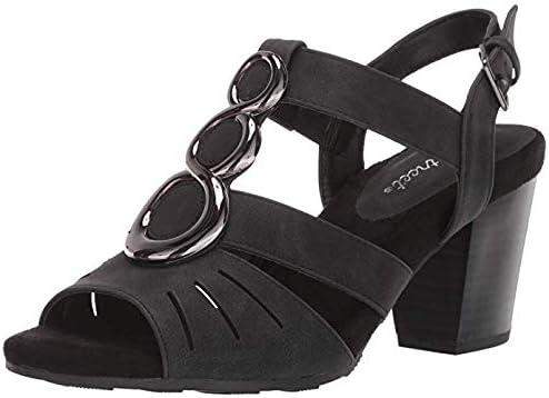 Easy Street Women's Casey Dress Casual Sandal Heeled 6.5 Medium