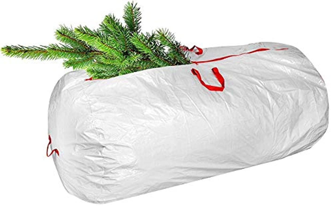 Large Christmas Tree Storage Bag with Durable Reinforced Carry Handles & Sleek Dual Zipper   Stores up to 7 Ft Tall Disassembled Artificial Trees, Great Storage for Holiday Accessories and Decorations