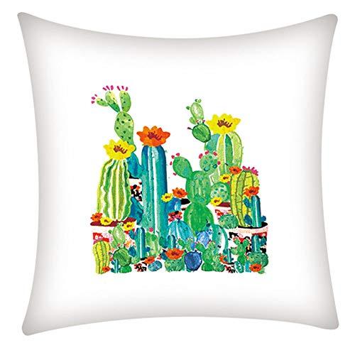 Kussen LKU Europese stijl woondecoratie kussen rose sierkussen sofa Mediterrane stijl, A