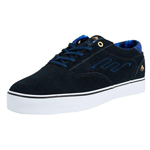 Emerica The Provost, Chaussures de Sport Homme - Bleu - Bleu Marine, 5.5