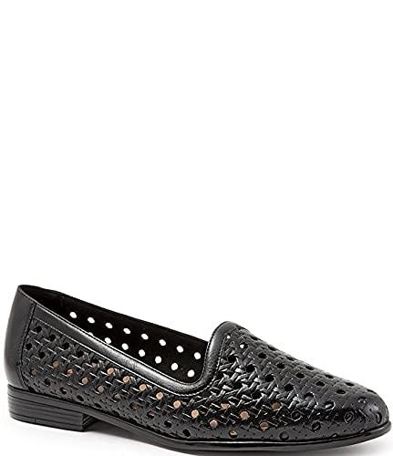 [トロッターズ] シューズ 28.0 cm パンプス Liz Woven Leather Loafers Black レディース [並行輸入品]