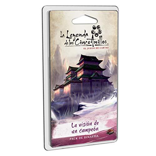 Fantasy Flight Games- Leyenda de los Cinco Anillos LCG - La visión de un campeón, Color (L5C23ES) , color/modelo surtido