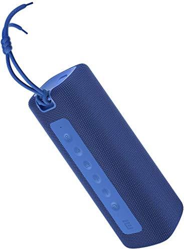 Xiaomi Mi - Altoparlante portatile Bluetooth TWS senza fili con batteria da 2600 mAh, protezione contro l'acqua IPX7, altoparlante wireless (blu)