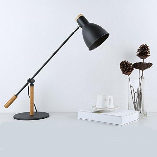 JM lampe de table LED Learning Eye Lampe Nordique En Métal Long Arm Bureau Lampe de Bureau Chambre de Chevet Lampe de Travail Étudiant Lampe de Lecture (Couleur : A)