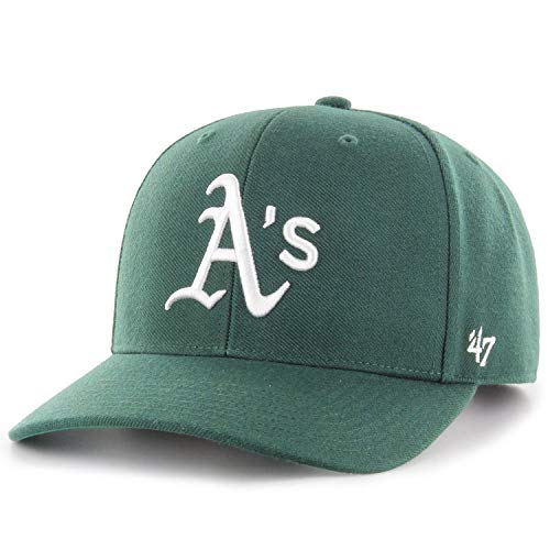 47 Brand Low Profile Cap - Zone Oakland Athletics Forest
