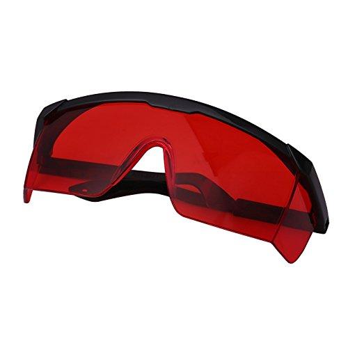 HDE UV Laser Eye Protection Safety Glasses w/Case