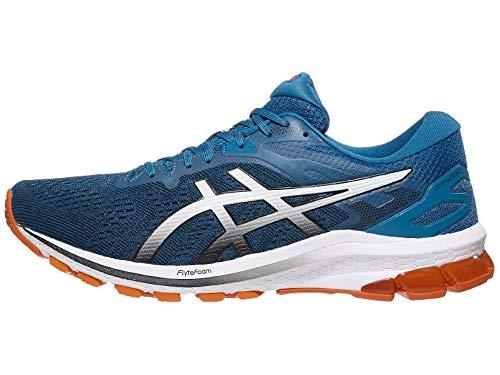 ASICS Men's GT-1000 10 Running Shoes, 13M, Reborn Blue/Black