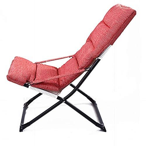 DANDAN-Deckchairs Chaise Longue Klappstuhl Für Die Mittagspause Startseite Freizeitstuhl Balkonschläfchen Klappstuhl Für Den Innenbereich Verstellbarer Balkonklappstuhl