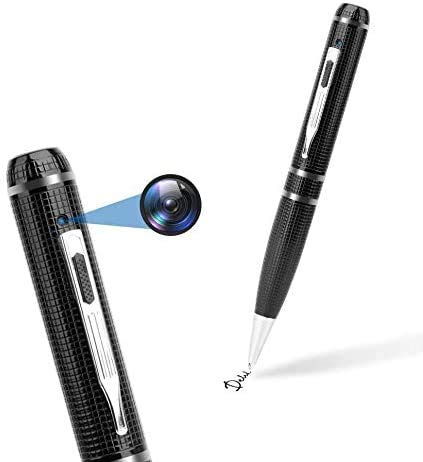 Upgraded Spy Camera Spy Pen Gift Set | Easy to Use Mini Spy Camera Pen 32gb Included | Best Hidden Camera Pen Spy Gear| Spy Pen Camera