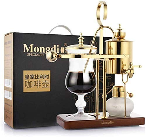 LXYZ Espressomaschine, Home Edelstahl Belgische Kaffeekanne Siphon Manuelle Kaffeemaschine