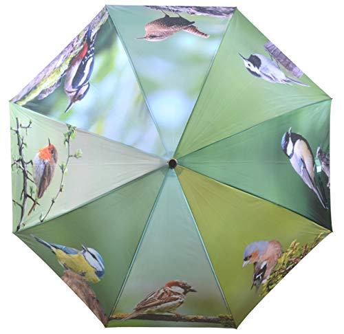 Flora Regenschirm Vögel
