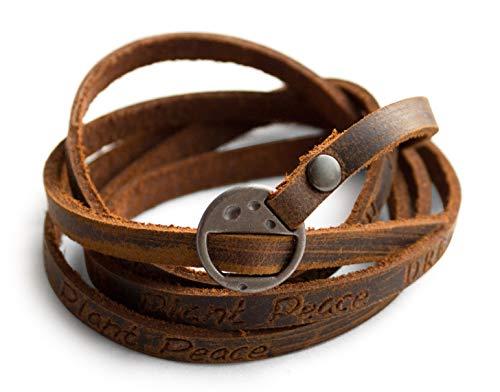 Meaningful Words of Encouragement Vintage Genuine Leather Wrap Unisex...