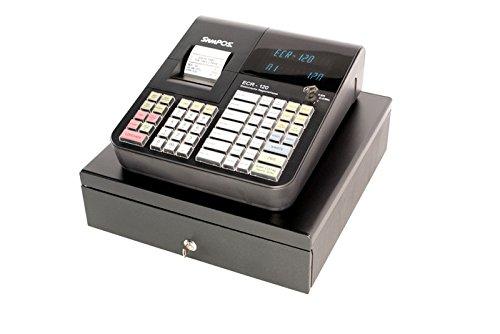 Elektronische Registrierkasse Sampos ECR-120, Kassensystem, inklusive Thermodrucker + Kassenschublade (inkl. TSE)