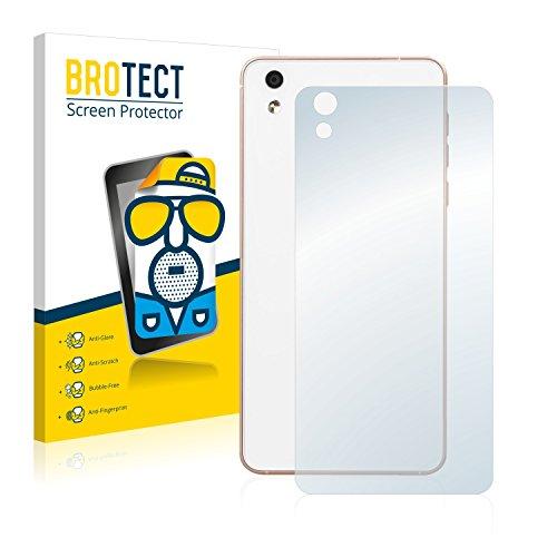 BROTECT 2X Entspiegelungs-Schutzfolie kompatibel mit Medion Life X5020 (MD 99367) (Rückseite) Bildschirmschutz-Folie Matt, Anti-Reflex, Anti-Fingerprint