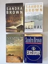 Sandra Brown (4 Book Set) Low Pressure; Lethal; Rainwater; Exculsive