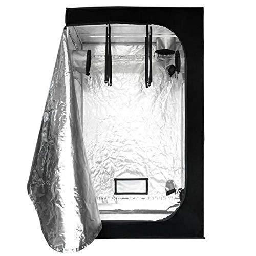 Qnlly 3ft x3ft x x 6t Indoor wachsen Zelt Raum 600D Mylar Hydroponic wachsende Pflanze w/Plastic Corner