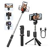 Yoozon Palo Selfie Deportivo Trípode, Selfie Stick extensible y Portátil de autofoto 3 en 1 con Control Remoto Bluetooth para Gopro, Cámara de acción y teléfonos como iPhone,Samsung, Xiaomi, LG