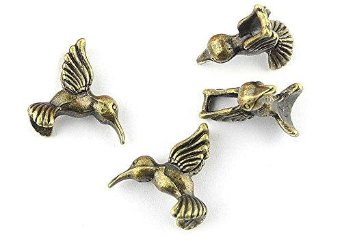 20x Anti-Brass Fashion Jewelry Making Charms A1530 Hummingbird Wholesale Supplies Pendant Retro DIY Craft Alloys Lots Repair Jewellery Findings