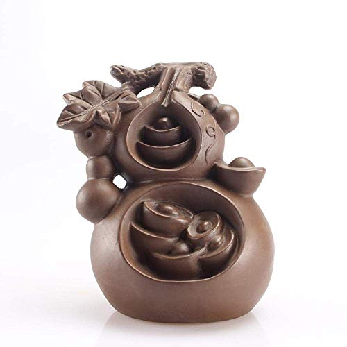 For Sale! LHBNH Burner Incense Burner Backflow Incense Burner Creative Hoist Sculpture Ceramic Creat...