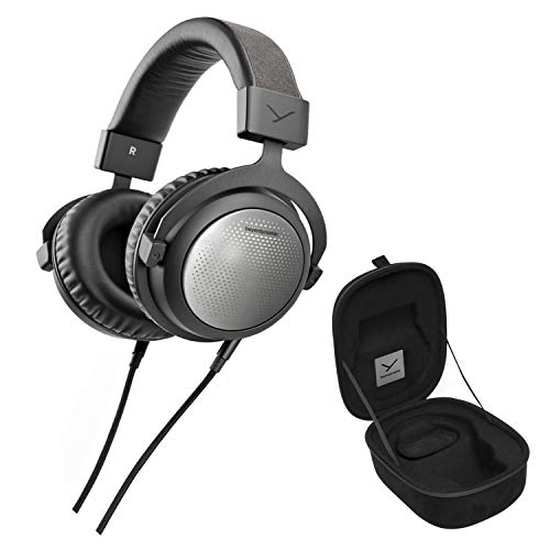 Beyerdynamic T1 3rd Generation High-End Tesla Open-Back Headphones Bundle with 6AVE Headphone Cleaning Kit and More