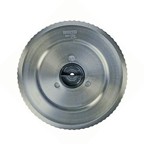 Bosch Siemens 12012078 ORIGINAL Messer Schneidscheibe runde Rundscheibe Schneiderad Küchenmaschine Allesschneider auch Neff Balay Constructa Gorenje Quelle Privileg