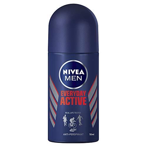 NIVEA MEN Everyday Active Roll On Anti-Perspirant Deodorant, 50ml