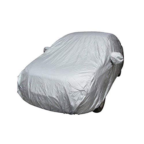 ECYC ImperméAble à l'eau/Coupe-Vent/Anti-PoussièRe/Anti-Rayures Protection UV ExtéRieur Couvertures De Voiture ComplèTe pour Peugeot 307 Toyota VW Golf 7 (193 Pouces)