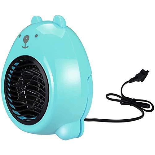 Calefactor Pequeños electrodomésticos Calentador de invierno, portátil eléctrico calentador de espacio, dibujos animados Personal Mini espacio calentador de ventilador, Forportable eléctrico del Minis