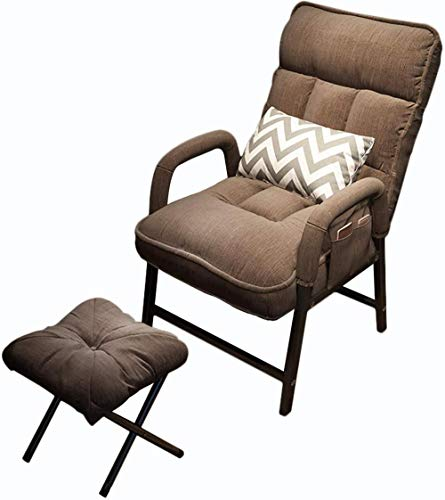Modern Recliner Armchair Recliner with Adjustable Backrest with Footrest for Living Room and Bedroom