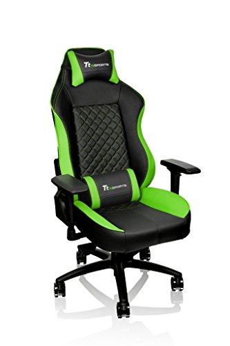 Tt eSPORTS GT Comfort Sedia da Gaming, Verde, 76.5 x 74 x 141.5 cm