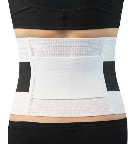 Hydas Rückenstützbandage Extra Stark, Gürtel für einen gesunden Rücken und korrekte Haltung, Bandage bei Rückenschmerzen und Muskelschwäche (Extra starke Stützkraft)
