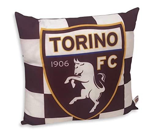 Tex family Cuscino Ufficiale Torino FC Calcio Originale Toro e Cartolina Torino È