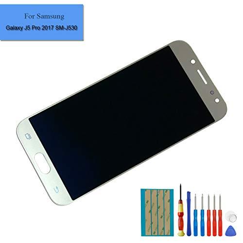New LCD-scherm touchscreen beeldscherm digitizer voor Samsung Galaxy J5 Pro 2017 SM-J530 Display Gold Glass Assembly display + lijm + gereedschap