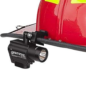 Nightstick NSP-4650B Helmet Mounted Multi-Function Led Dual-Light Flashlight, One Size, Black