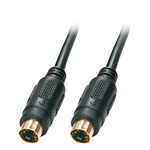 LINDY 35630-Cable S-Video Macho/Macho, 2 m, Color Negro