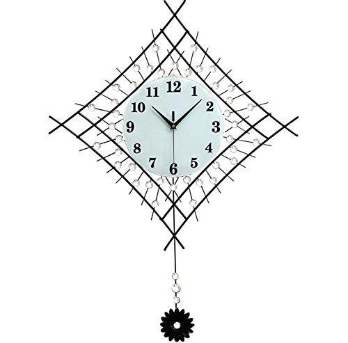 Reloj Reloj de Pared Sala de Estar Moderno Minimalista Creativo Mudo Columpio Mesa Colgante Jane Personalidad Europea Dormitorio Reloj de Cuarzo nórdico
