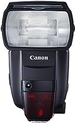 Canon 600EX II-RT Speedlite Blitzgerät (EOS Blitzgerät mit integriertem Funk-Auslöser, Leitzahl 60, Geeignet für entfesseltes Blitzen) schwarz 1177C006