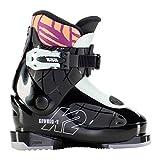 K2 Luvbug-1 Botas de esquí, Niñas, Negro-Menta, Mondo: 16.5 (EU: 27.5 / UK: 8.5 / US: 9.5)
