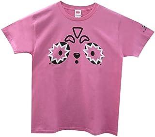 べぃびーにこぱんだ Tシャツ (130cm, AP-005 Pink_1)