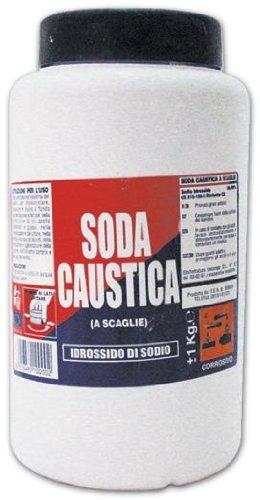Soda Caustica in confezione da 1 Kg