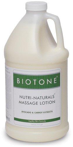 Biotone Nutri-Naturals Massage Lotion, 64 Ounce