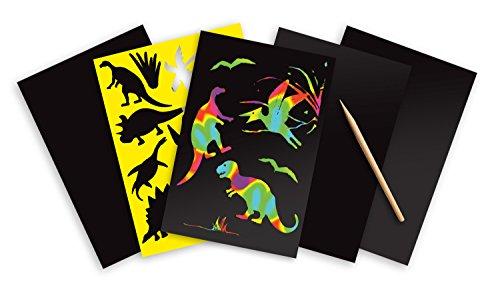 Melissa & Doug Scratch Art Sheets: Dinosaurs