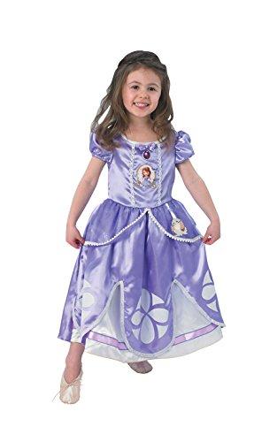 Rubies Disney - Disfraz de princesa para niña, talla 2-3 años (I-889548TOD)